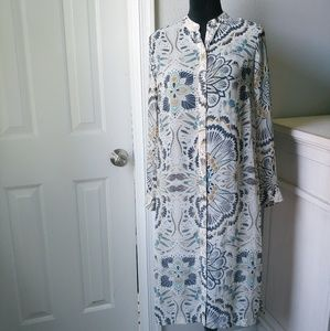 H and M printed tunic dress